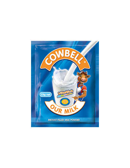 Cowbell Sachets 23g (Strip of 10)