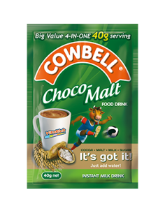 Cowbell Choco Malt & Milk 40g (Strip of 8)