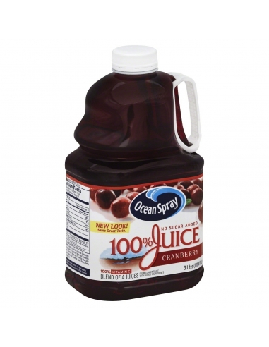 Ocean Spray 100% Cranberry Juice 3L