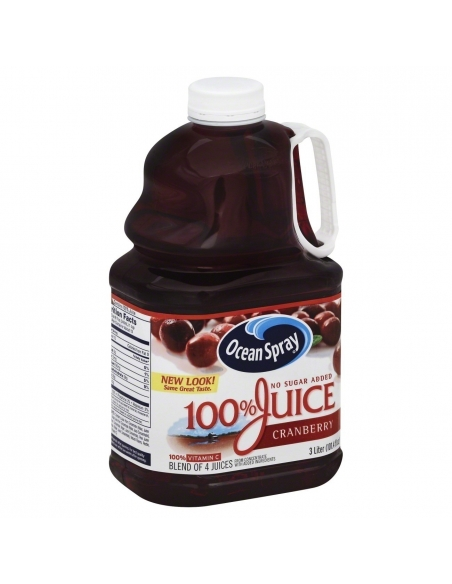 Ocean Spray 100% Cranberry Juice 2.8L