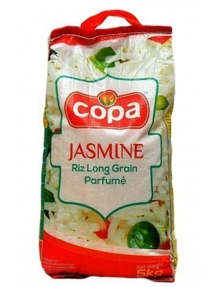 Copa Jasmine Long Grain Rice - 5kg