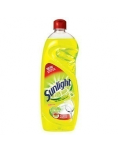Sunlight Dishwashing Liquid Soap with Real Lemon Juice 400ml