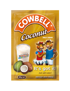 Cowbell Coconut 40g (Strip of 8 x 10)