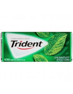 Trident Gum - Spearmint - 18 Sticks