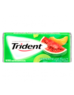 Trident Gum - Watermelon Twist - 18 Sticks