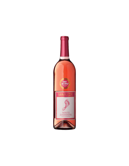 Barefoot White Zin Wine 75cl