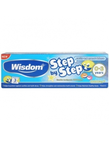 Wisdom 0 - 3 Years Toothpaste