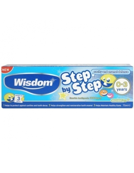 Wisdom 0 - 3 Years Toothpaste 75ml