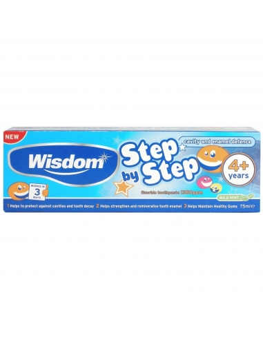 Wisdom 4+ Years Toothpaste