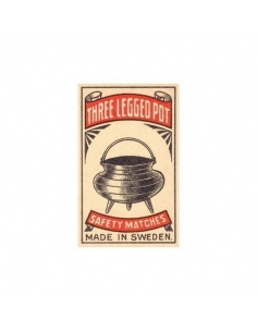 Three Legged Pot Safety Matches(Pack of 10)