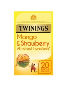 Twinings - Mango & Strawberry - 20 Tea Bags