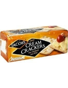 Jacobs Cream Crackers 200g (Carton of 24)