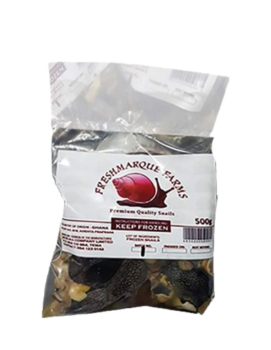 Packaged Snails 500g- Large Sized(9-12 pieces)