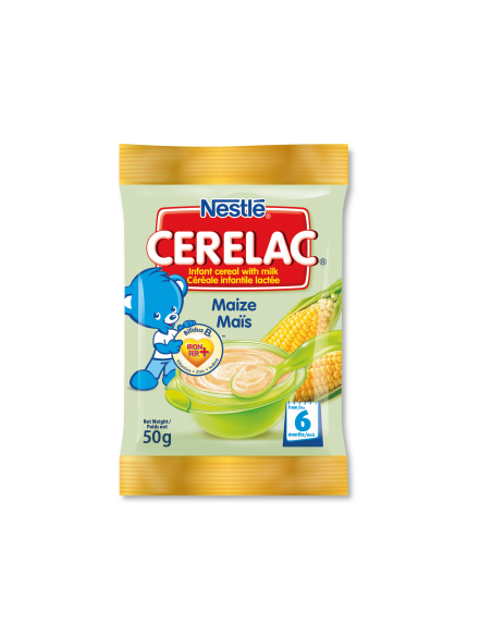 Cerelac Maize Sachet - 50g (10 Strips)