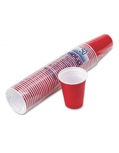 Red Disposable Cups (Pack of 50)
