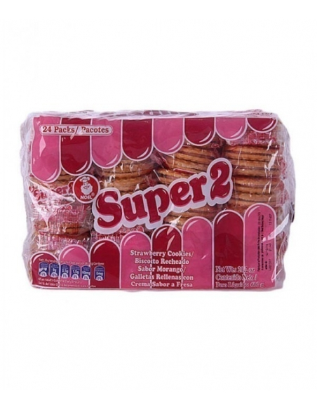 Super 2 Strawberry Cookies - Pack of 24