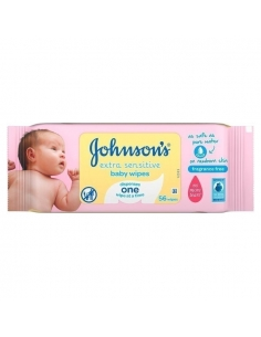 Johnson's Extra Sensitive Baby Wipes