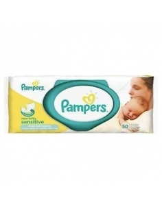 Pampers New Baby Sensitive Wipes - 50 Wipes