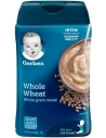 Gerber Whole Wheat Cereal 227g