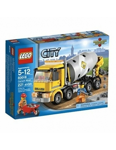 LEGO City Flatbed Truck 60018