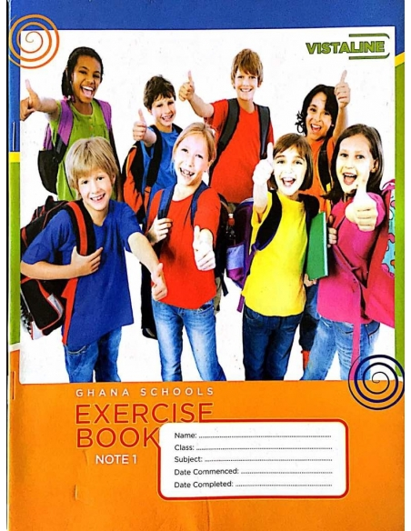 Vista Exercise Book Note 1 - Bond (pack of 20)