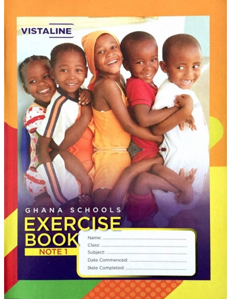Vista Exercise Book Note 1 - News Print (pack of 20)