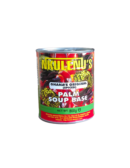 Nkulenu Palm Soup Base (Spiced) 800g