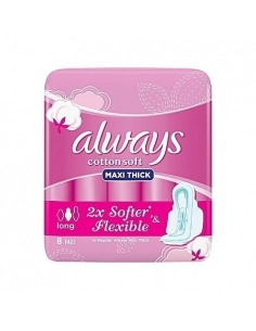 Always Cotton Soft Maxi Thick - Long (8pads)