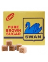 Swan Brown Cube Sugar 90 cubes - 500g