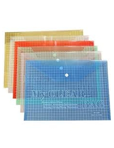 My Clear Bag - Pack of 12