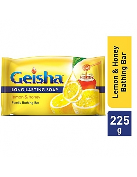 Geisha Lemon and Honey Bar Soap 225g