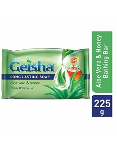 Geisha Bath Soap Aloe Vera & Honey 225g