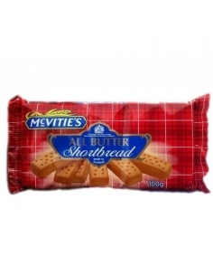 McVities Shortbread 100g All Butter Biscuits