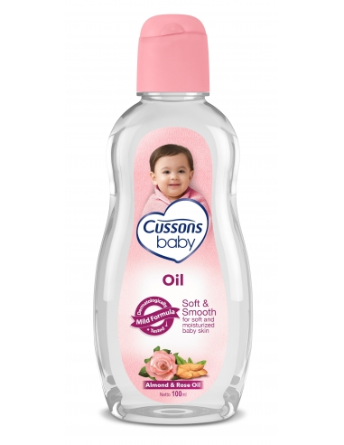 Cussons Baby - Soft & Smooth Baby Oil 200g