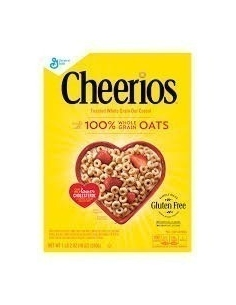 Cheerios Toasted Whole Grain Oat cereal 510g