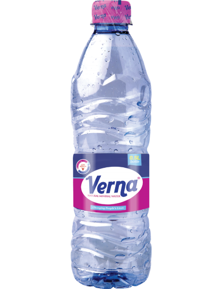 Verna 500ml Natural Mineral Water (Pack of 15)