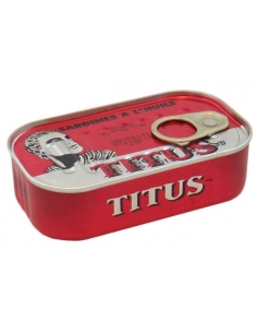 Titus Canned Sardines in Vegetable Oil 125g