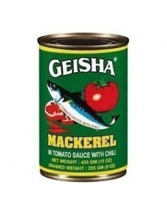 Geisha Mackerel in Tomato Sauce 425g