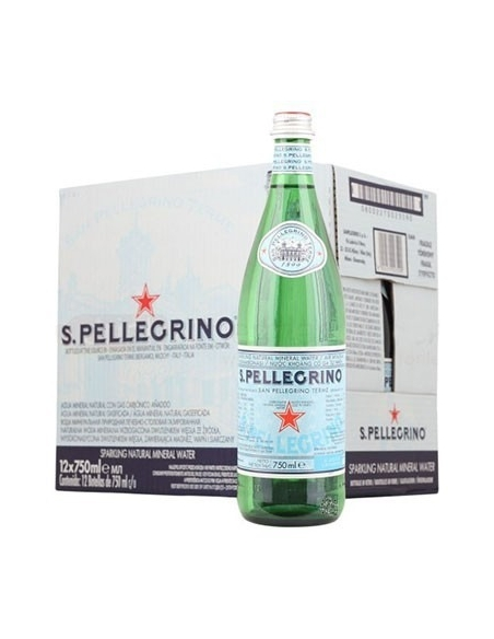 San Pellegrino Sparkling Water 75cl (Pack of 12)