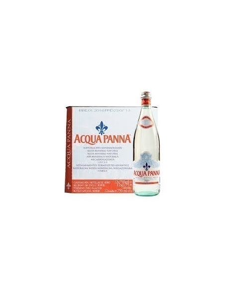 Acqua Panna Natural Still Mineral Water 75cl (Pack of 12)