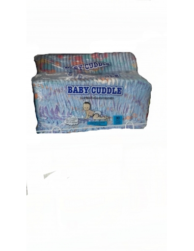 Baby Cuddle Diapers (Large) 30 Pieces