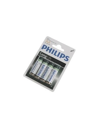 Philips AA Batteries (Pack of 4)