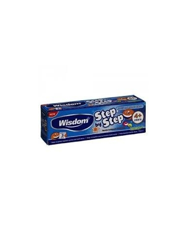 Wisdom Step By Step 4+ years Mild Mint Toothpaste 75ml