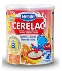 Cerelac 400g tin 3 fruits