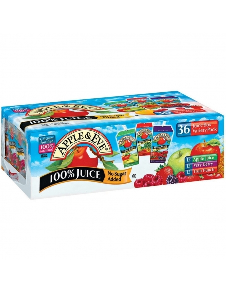 Apple & Eve 36 Juice Box Variety pack