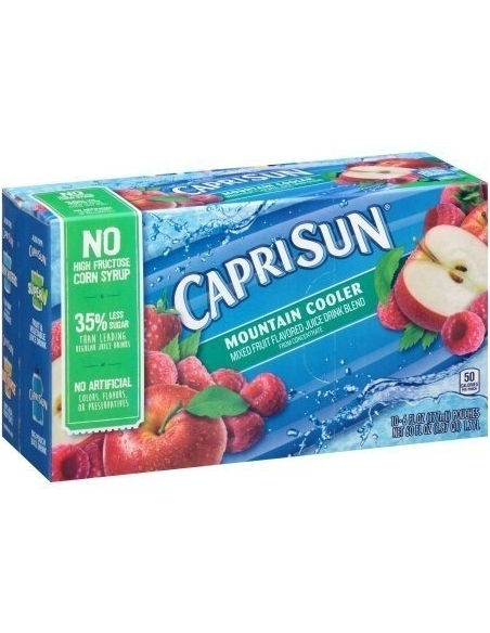 Caprisun Mountain Cooler Juice Drink (Pack of 10) 1.7L