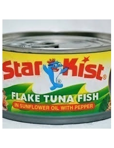 Star Kist tuna Flakes with Pepper 170g (Pack of 24)