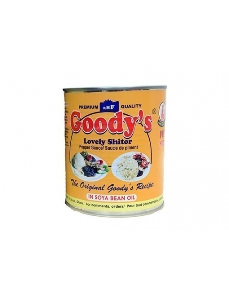 Goody's Lovely Shitor 800g Tin - Hot with Shrimp