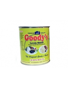 Goody's Lovely Shitor Pepper Sauce 800g Tin - Mild with Shrimp