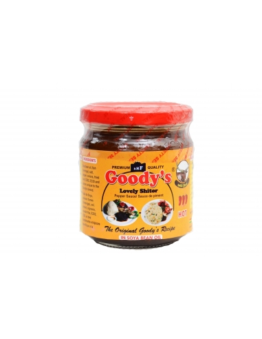 Goodys Lovely Shitor in Soyabean Oil 165g with Beef